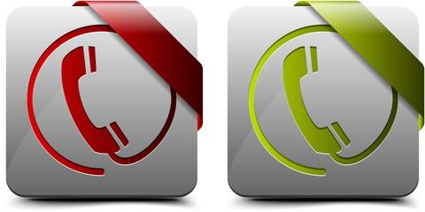 Online & Offline Call Buttons