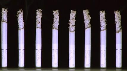 дымящие сигареты