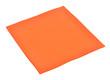 Orange paper napkin