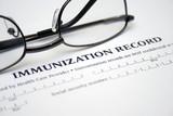 Immunization record poster
