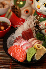 Food - Japanese assorted Sashimi