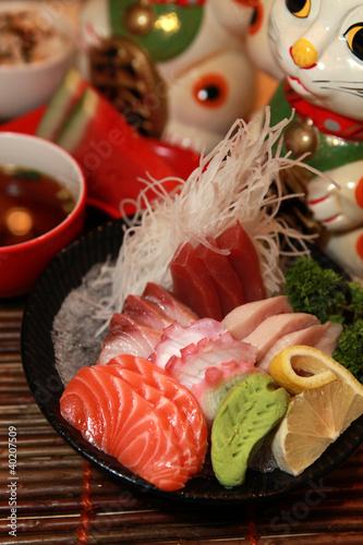 Food - Japanese assorted Sashimi