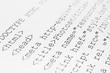 Printed internet html code