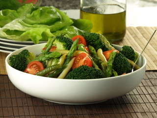 Mix of healthy vegetables