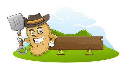 Farmer potato