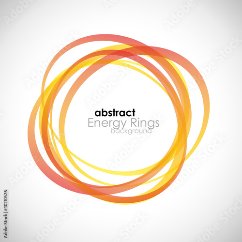 Abstract Energy Rings Background