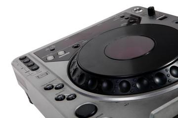 Old DJ turntable disk