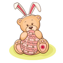 easter teddy