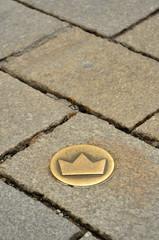 crown symbol in Bratislava