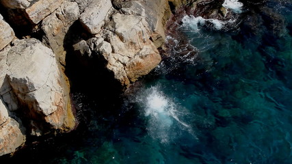 Man jumps from cliff of Dubrovnik into Adriatic water