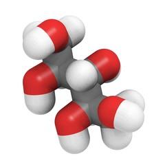 Xylitol molecule