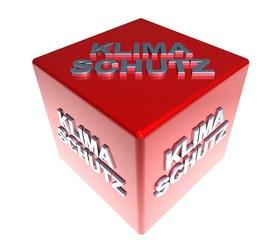 3D ZauberWuerfel - KLIMASCHUTZ