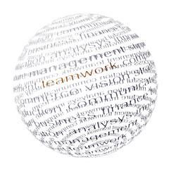Word Ball - teamwork -