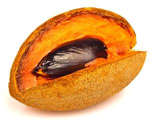 Ripe mamey fruit