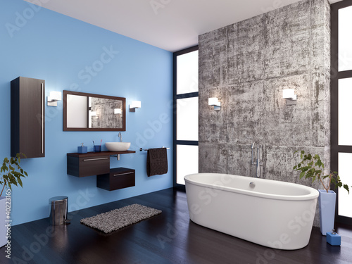 Salle de bain design 1 - 40223165