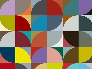 motif rond/carré