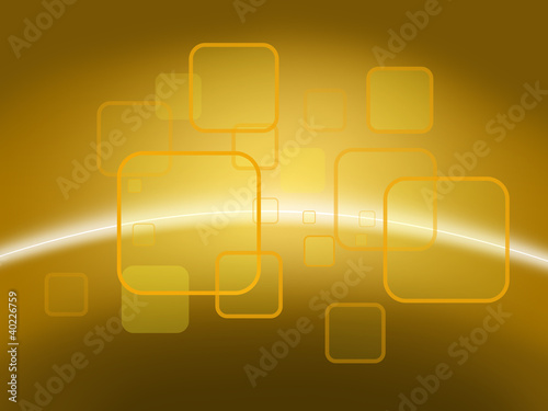 Orange and yellow background of abstract, for www