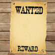 Plakat - WANTED REWARD