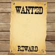 Plakat - WANTED REWARD