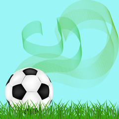 Abstract background football
