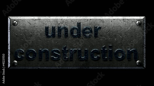 Animated Under Construction Sign