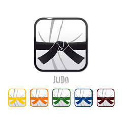 logo judo, judo