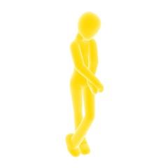 shy yellow
