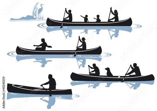 Kanu fahren
