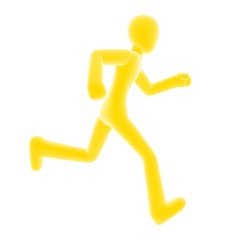 run right yellow