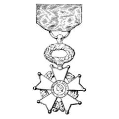 Médaille Légion d'honneur