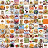 Fototapety 100 food images