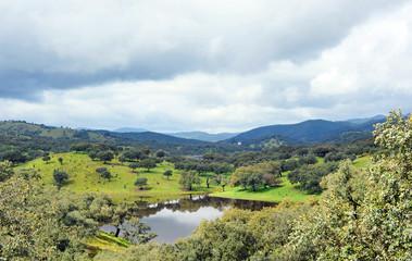 Parque Natural Sierra de Aracena, provincia de Huelva