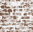 Seamless pattern with brick wall .