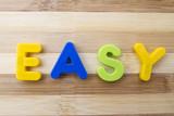 Fototapety Letter magnets EASY