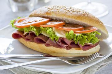 Gourmet Ham Sandwich