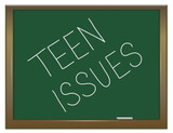 Teen issues. poster