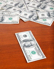money taking