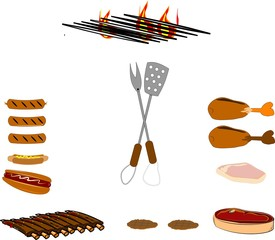 summer fun with a barbeque