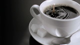 Rebound in super slow motion of a drop of milk