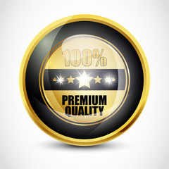 100% Premium Quality Button