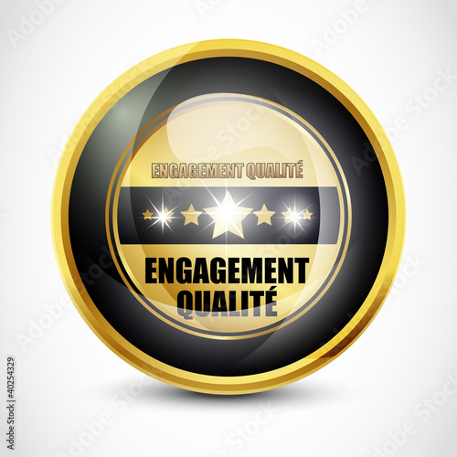 Engagement Qualite button