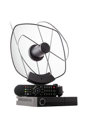 DVB-T antenna and receiver