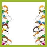 Fototapety Kids frame