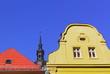 Dach, Giebel und Kirchturm