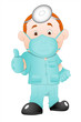 Cartoon Surgeon Doctor