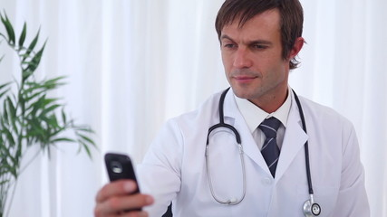 Doctor text-messaging