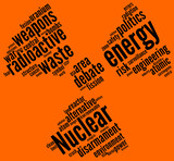 nuclear symbol - tag cloud