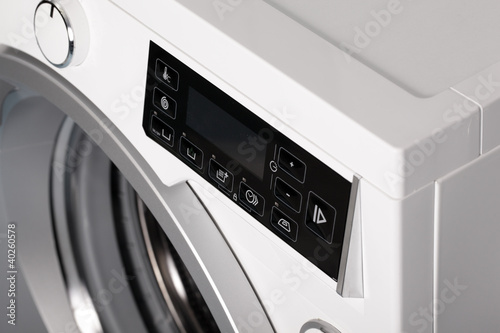 Detail of washing machine.