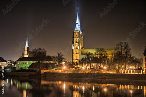 Ostrow Tumski, Wroclaw, Poland © CCat82