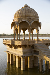 Chattris in Jaisalmer